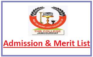 THB College Merit List