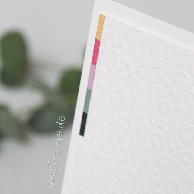 Karten Resteverwertung Neue In Color Farben Stampin Up