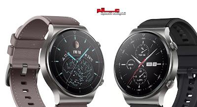 ساعة هواوي وتش Huawei Watch GT 2 Pro الإصدارات: VID-B19 . يُعرف أيضًا باسم Huawei Watch GT2 Pro و Huawei Watch GT Two Pro و Huawei Watch GT 2 Pro Classic و Huawei Watch GT 2 Pro Sport