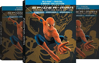 Movie: Spider-Man 1, 2, 3 Trilogy Video Collections - Bluray Discs