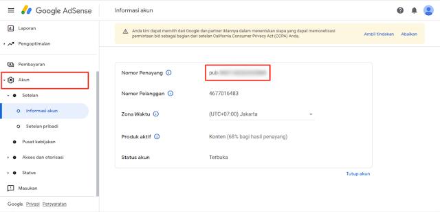 Cara mengaktifkan file ads.txt di blogger