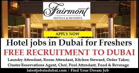 Room Attendant Jobs In Dubai Hotels