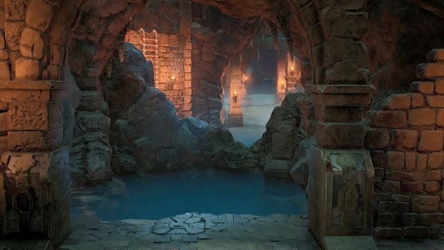 Caverna Paisaje Tales of Arise