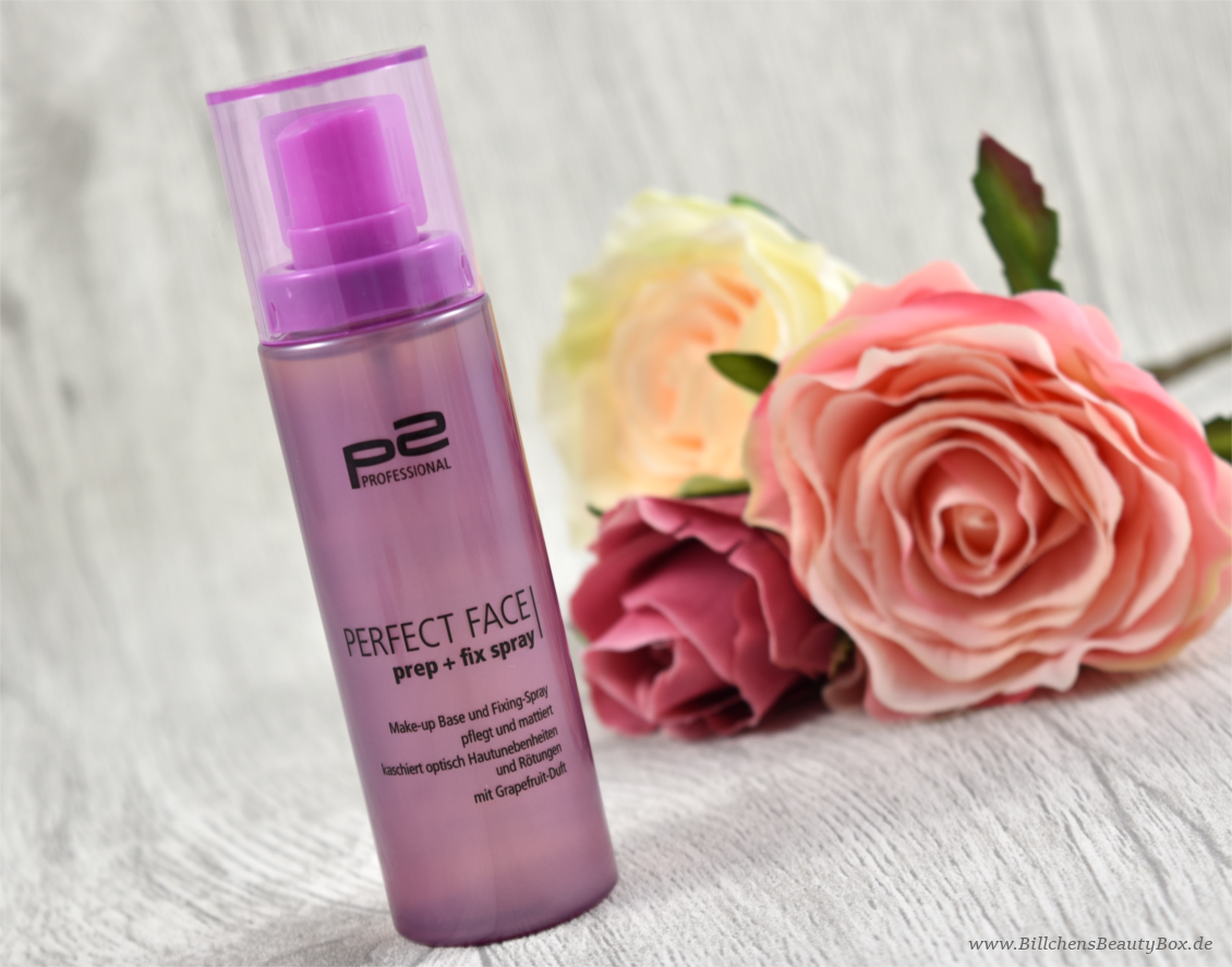 p2 cosmetics - Beauty VOYAGE Limited Edition - perfect face prep + fix spray