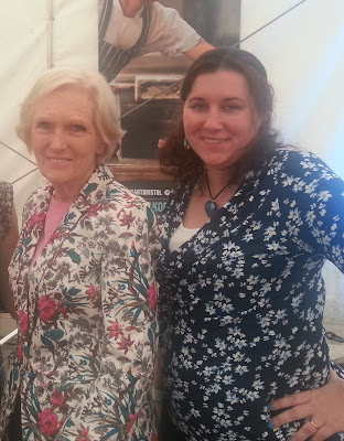 Selfie with Mary Berry
