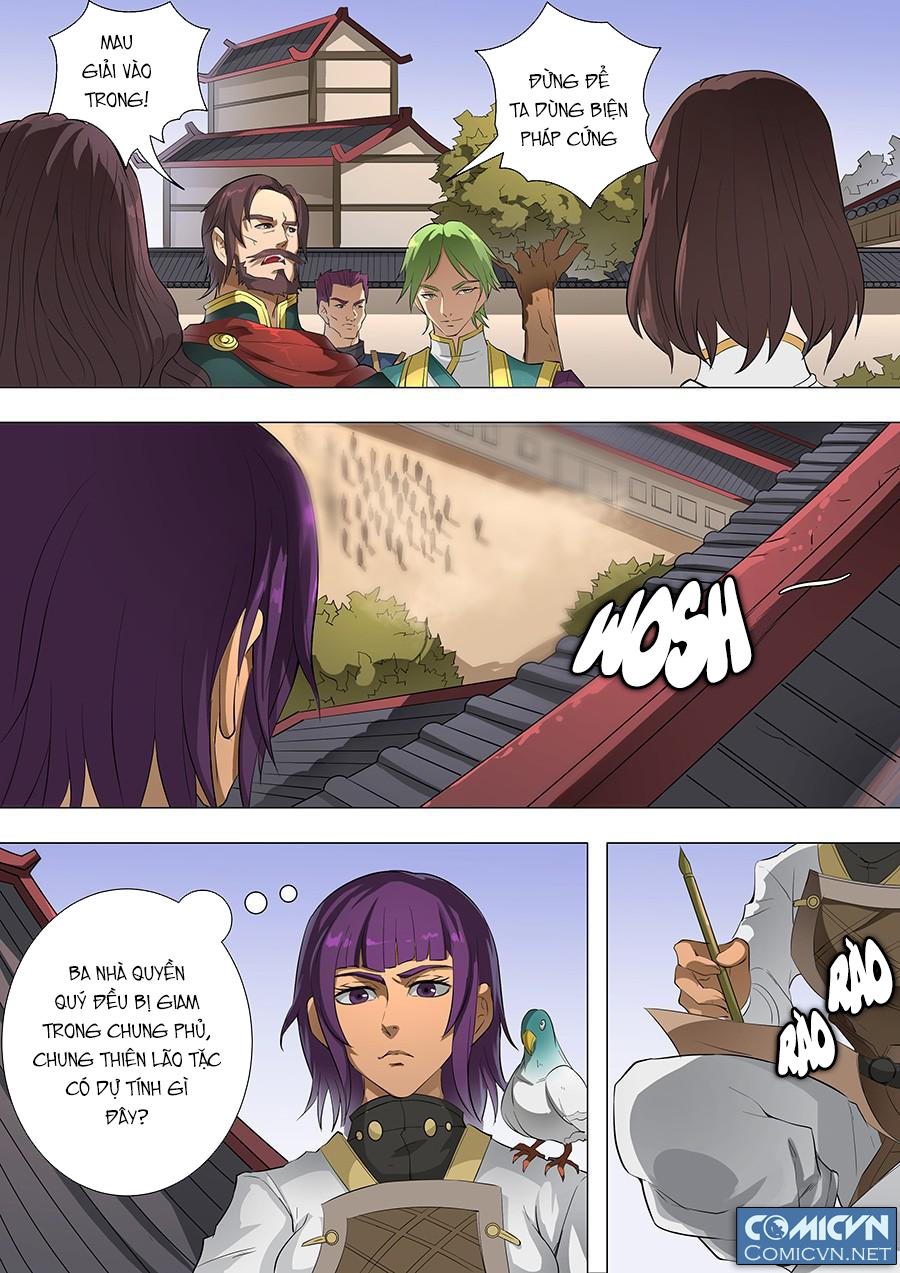 Đường Dần tại Dị Giới trang 9