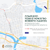 Trecho do complexo viário Ministro Roberto Campos será interditado para reparo no limitador de altura