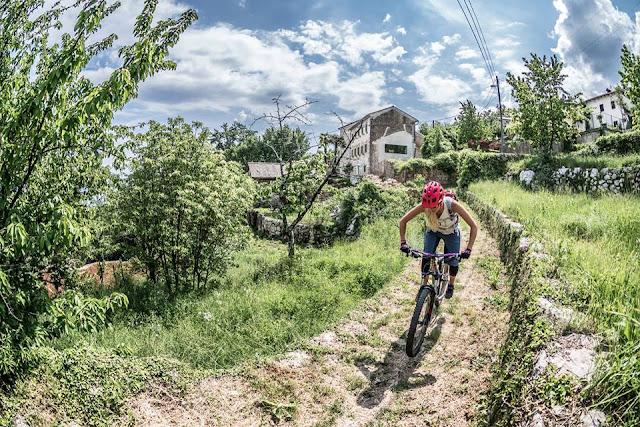 Trails Kroatien Singletrail Track GPS GPX Tour Touren