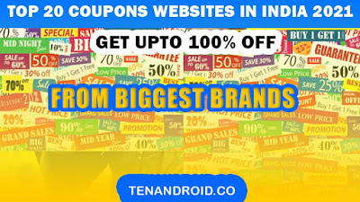 Top 20 Coupons Websites in India 2021