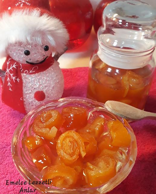 Portakal reçeli nasıl yapılır