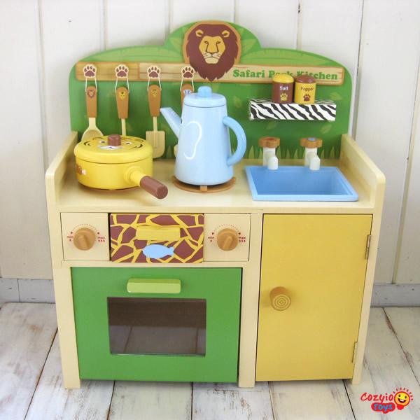 Safari Park Kitchen Playset   Cozyio Toys