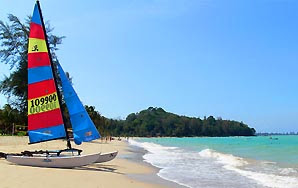 Khao Lak Beach at the Meridien