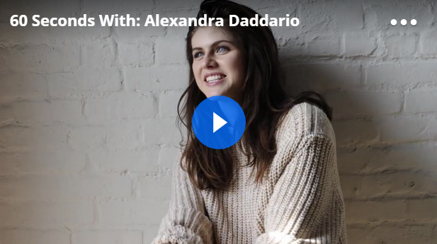 Alexandra Daddario interview on Advice, Tattoos, and Her Funeral