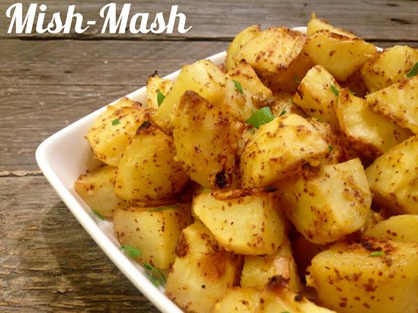 Картофи с горчица и лимон
