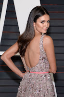 nina dobrev elie saab gown 2016 vanity fair oscar party best red carpet dresses