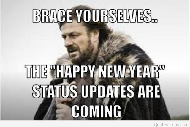 Funny New Year Status Updates