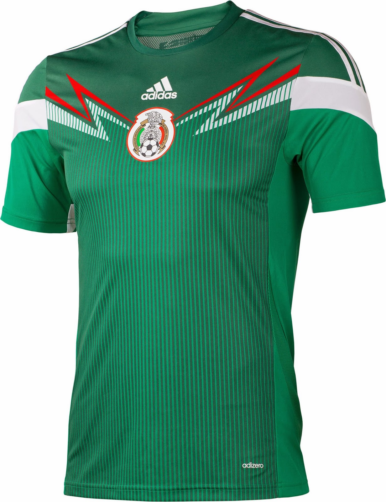 timeless design 3ed84 2a54f 2014 World Cup Jerseys: Mexico 2014 World Cup Home Kit