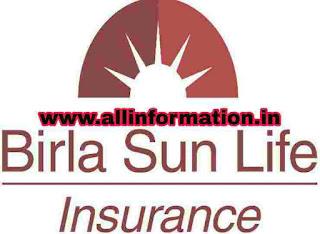 Birla Sun Life insurance (बिरला सन लाइफ इंश्योरेंस)