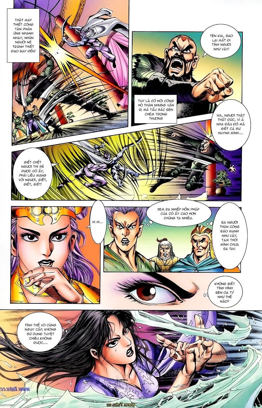 Cơ Phát Khai Chu Bản chapter 106 trang 13