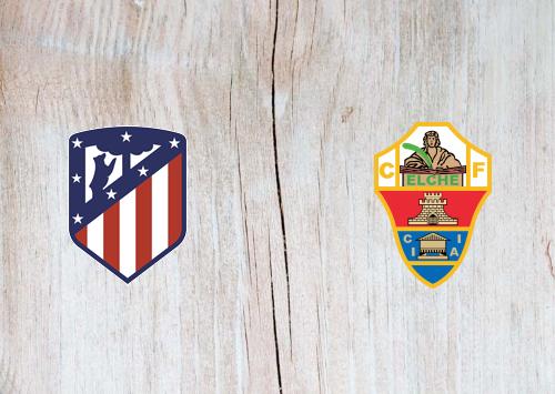Atletico Madrid vs Elche -Highlights 19 December 2020