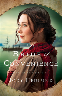 Jody Hedlund, Bride ships, historic fiction, 1863 Vancouver Island