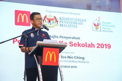 """""""Kembali ke Sekolah"""" dengan McDonald's Malaysia"""
