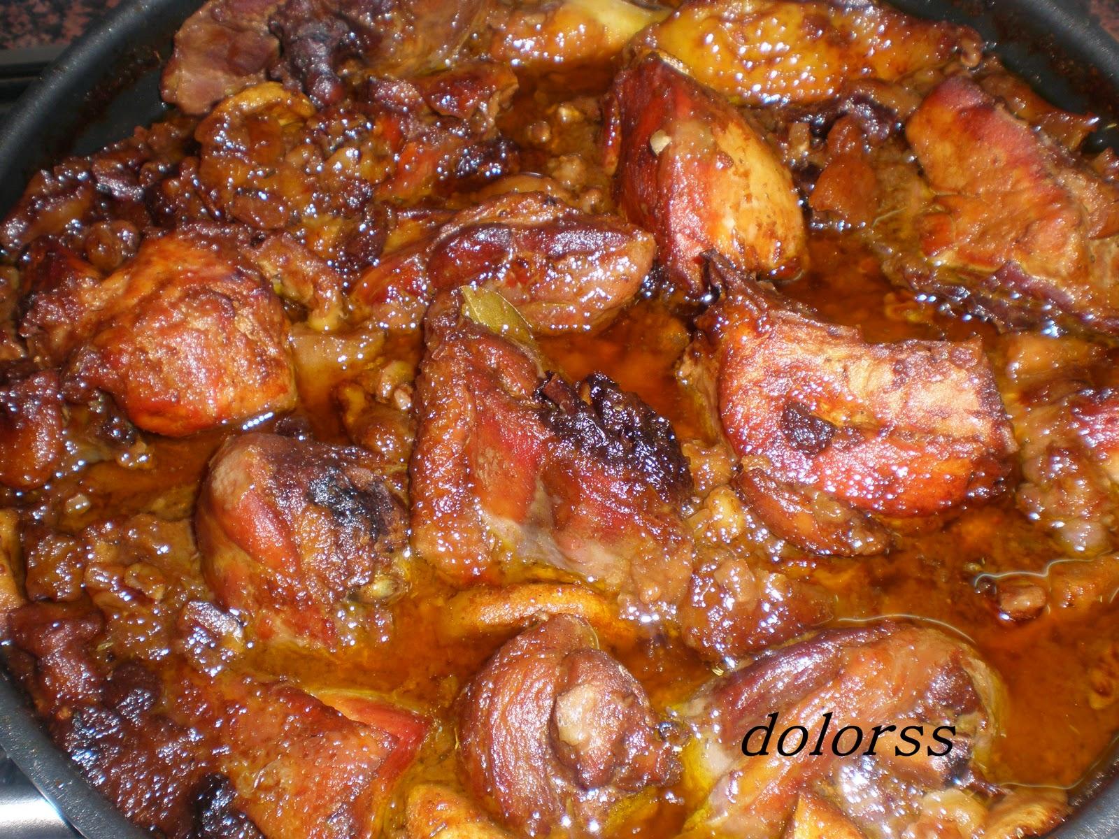 Blog de cuina de la dolorss pollo de corral a la cazuela - Pollo de corral guisado ...