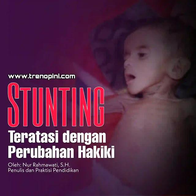 Indonesia menempati urutan ke-4 dunia dan ke-2 di Asia Tenggara dalam kasus balita stunting (adalah : kekurangan gizi kronis yang terjadi selama periode paling awal pertumbuhan dan perkembangan anak)