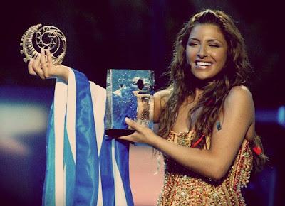Αποτέλεσμα εικόνας για eurovision 12 χρονια πριν παπαριζου