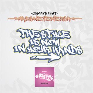Marsneveneksk Free Font Graffiti
