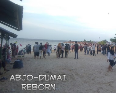 Pesona Keindahan Pantai Koneng di Kota Dumai - Riau