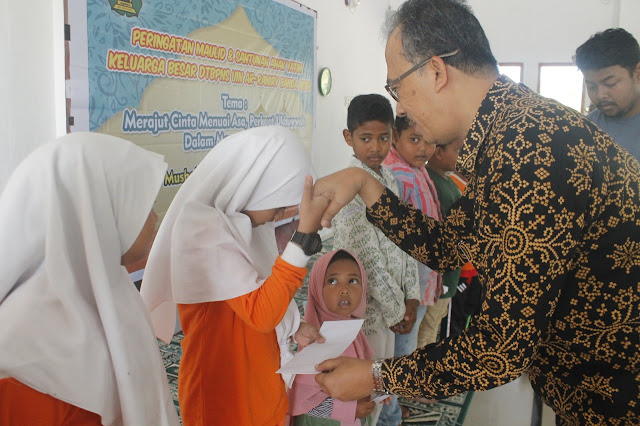 Kenduri Maulid, DTBPNS UIN Ar-Raniry Santuni Anak Yatim