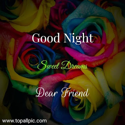 wishes good night sweet dreams dear my friends images