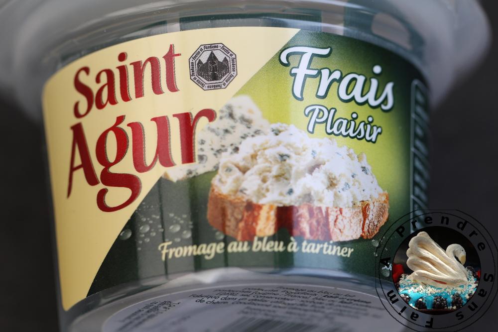 Tartines de Saint-Agur de Juan Arbelaez