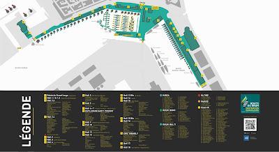 Plan de la Route du Rhum 2018 à Saint Malo, où sont les bateaux ?