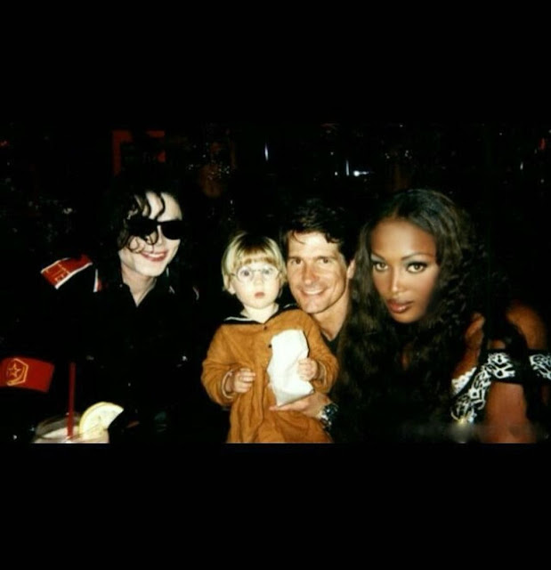 Moment Naomi Campbell shares throwback photos of she and Michael Jackson as she celebrates his 63rd birthday