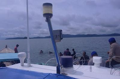 Kapal Karam di Perairan Kekek, Satpolairud Lingga Berhasil Evakuasi ABK serta Alat Medis