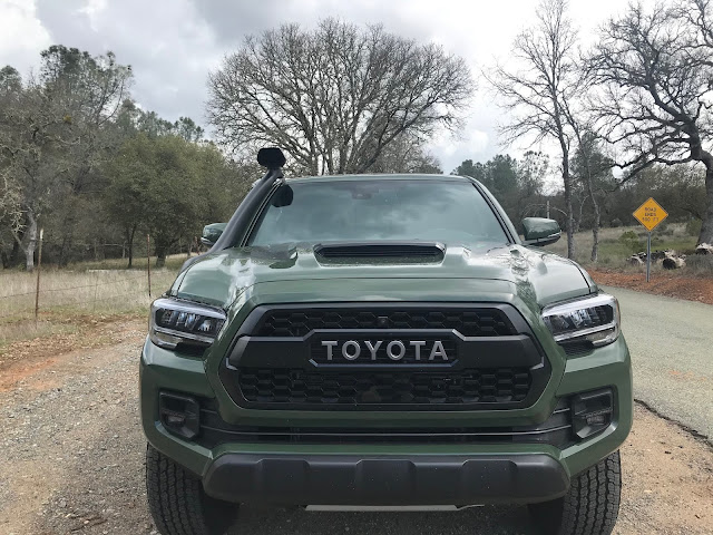 Front view of 2020 Toyota Tacoma TRD PRO