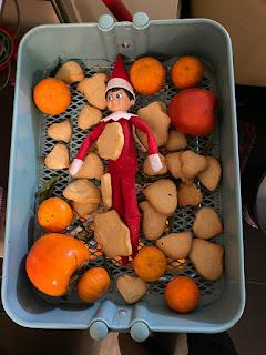 Mini-biscuits de Noël pour elfe farceur