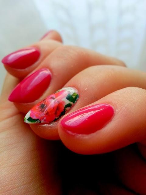 piekne paznokcie hybrydowe