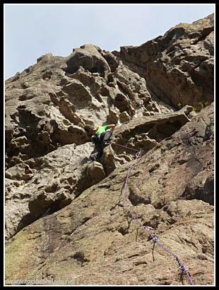 Escalada en coll de Bavella, sector Murzella