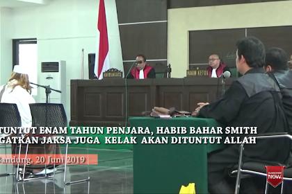 Habib Bahar Smith Peuingat Jaksa dan Hakim: Na Sidang Nyang Dahsyat Uroe Dudoe