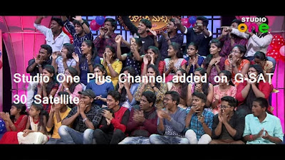 Studio One Plus channel on GSAT 30 satellite, Know Frequency. Free to air Telegu TV channels in India.