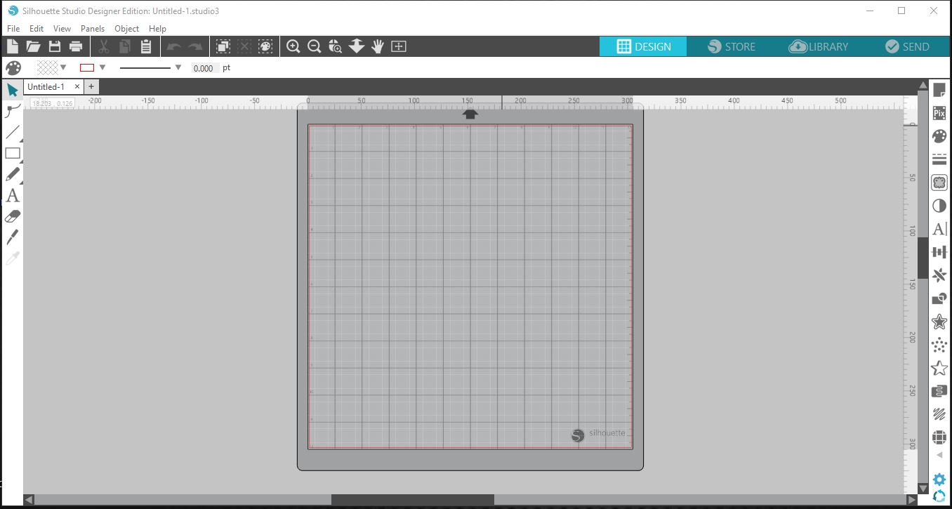 How to use the magnetic floating panels in Silhouette Studio V4