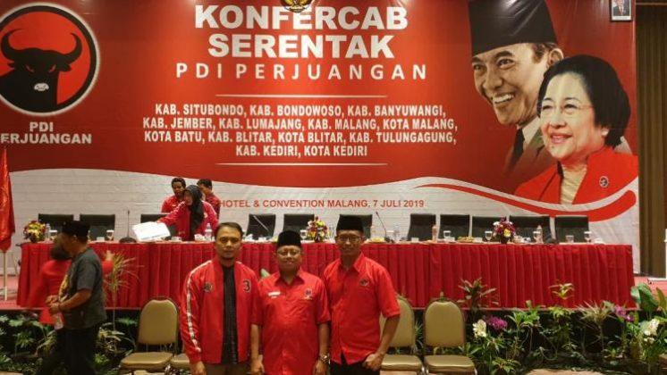 Santoko, Mantan Ketua KPU Kabupaten Malang Berlabuh PDI Perjuangan