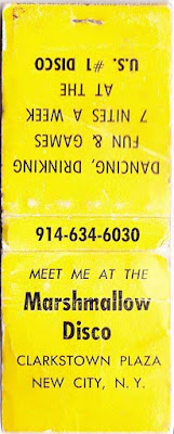 Marshmallow's club in New City, New York