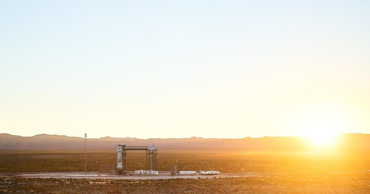 Blue Shepard, assistiamo insieme alla diretta video del 1° lancio spaziale suborbitale con equipaggio, stream video by Blue Origin!
