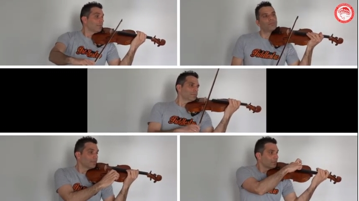 Εξαιρετικό: Ο ύμνος του Ολυμπιακού με βιολί (video)