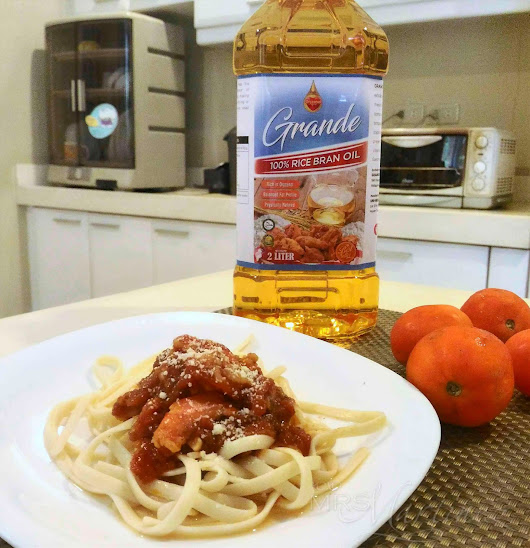 Back to Cooking with Grande 100% Rice Bran Oil