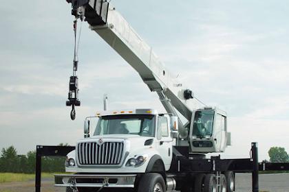 Komponen Utama Hydraulic Truck Crane